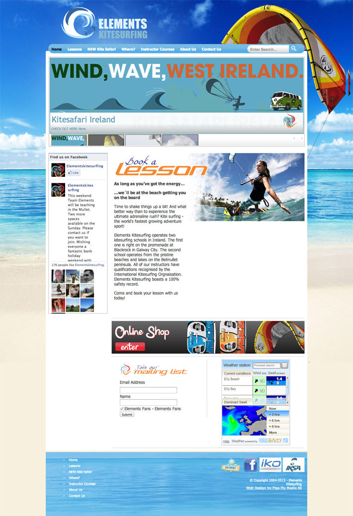 Elements Kitesurfing